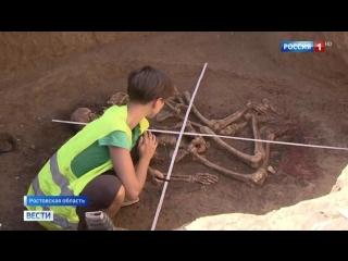 В Ростовской области нашли захоронения катакомбного типа