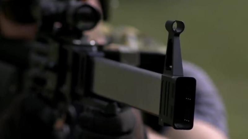 Проморолик винтовки L5 Caseless Ammo