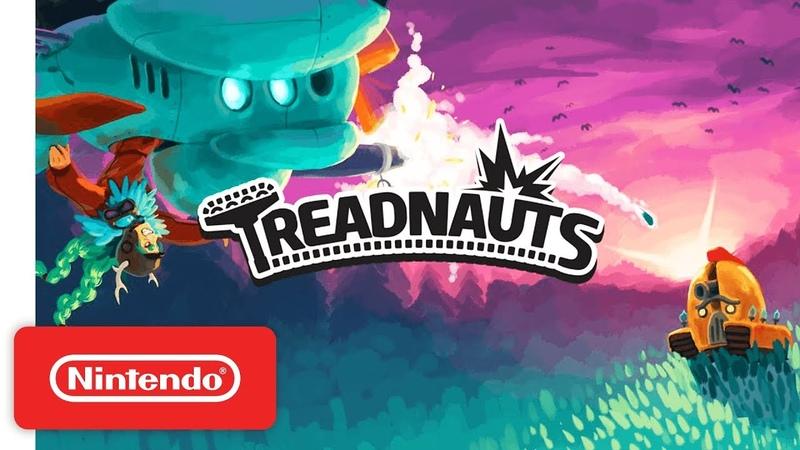 Treadnauts - Launch Trailer - Nintendo Switch