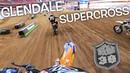 Intense Supercross Battle Dangerboy Last Lap Pass For The Win