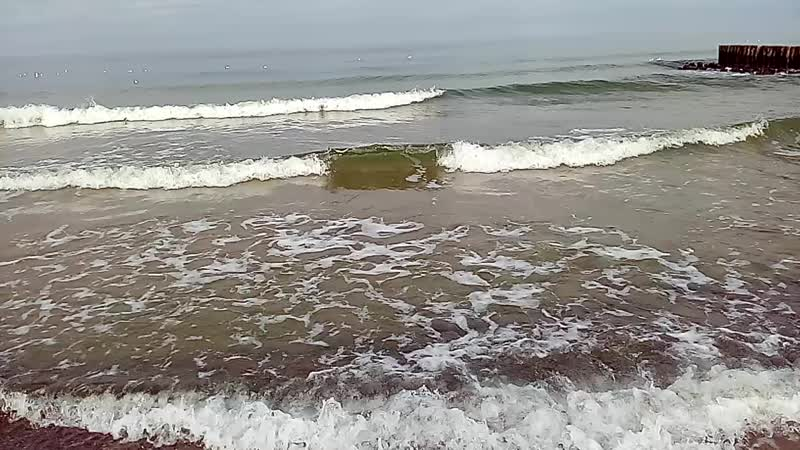 Море в феврале. Балтика
