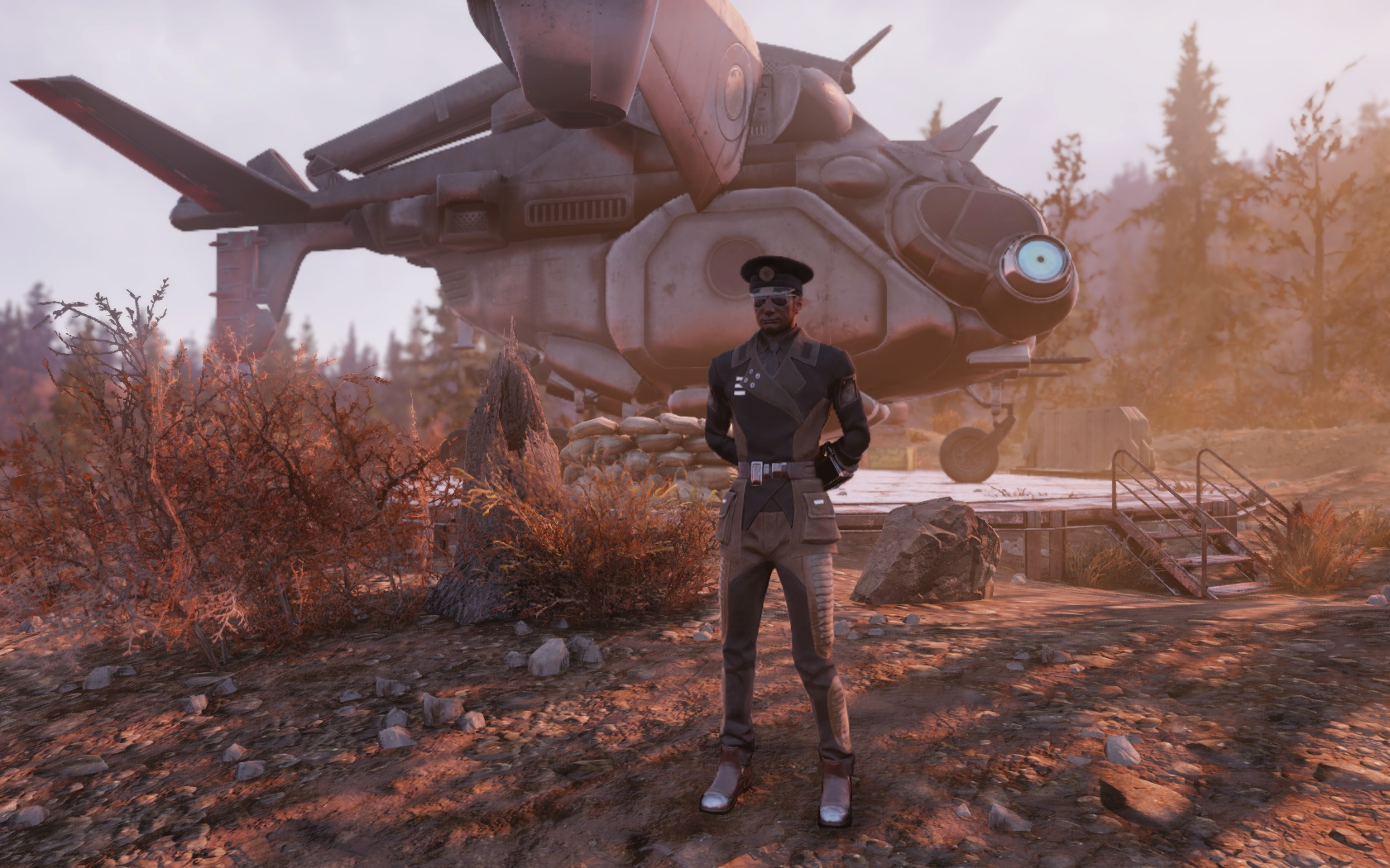 Персонажи наших подписчиков в Fallout76