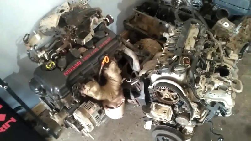 Получили очередную партию контрактных ДВС двигателей на установку