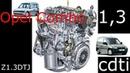 Замена цепи ГРМ своими руками Opel Combo 1 3 cdti Разборка