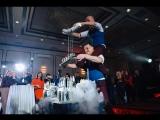 Лучший дуэт бармен шоу в Москве