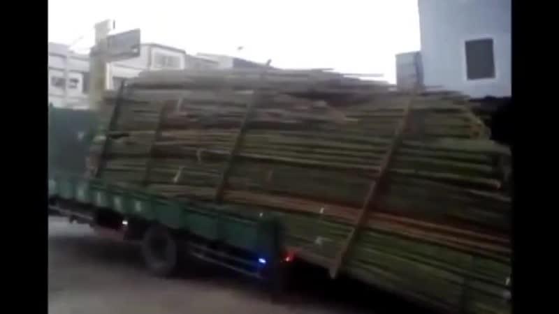 Как разгружают машину китайцы! rfr hfpuhef.n vfibye rbnfqws!