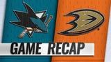 Meier scores in overtime to lift Sharks to 4-3 win