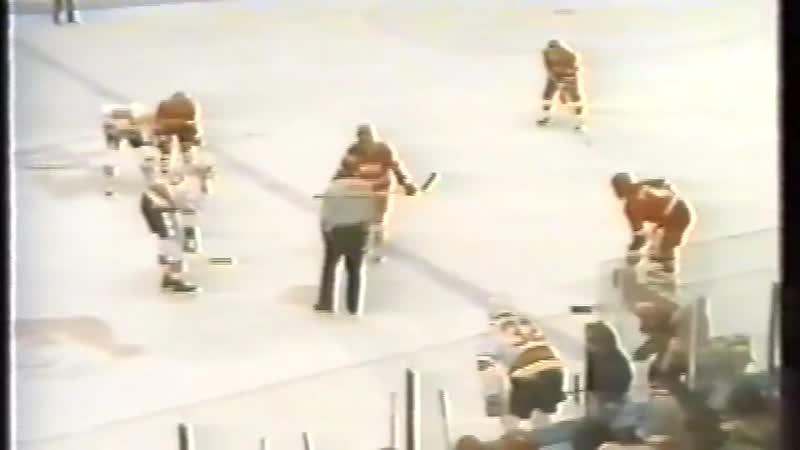 Рандеву - 1987. (11.02.1987). НХЛ - СССР. 1-й матч