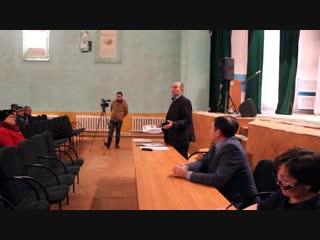 Заключительное собрание жителей село Аксаитово