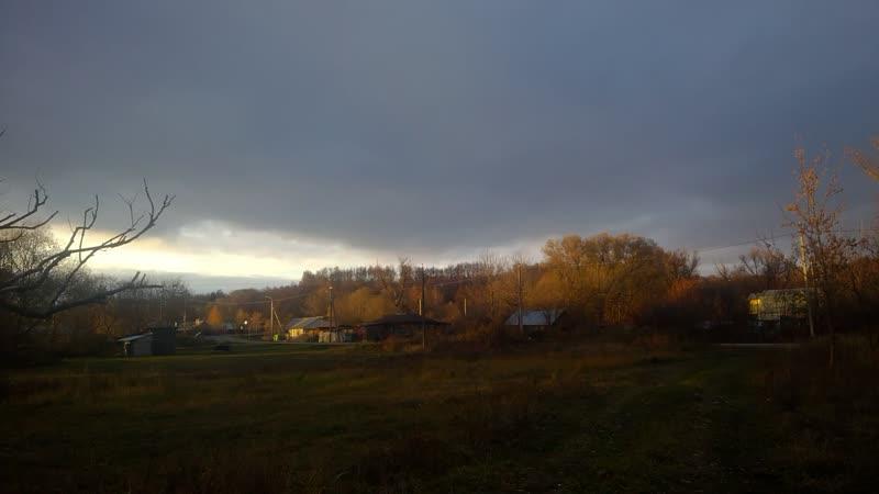 Красота вечернего Пронска