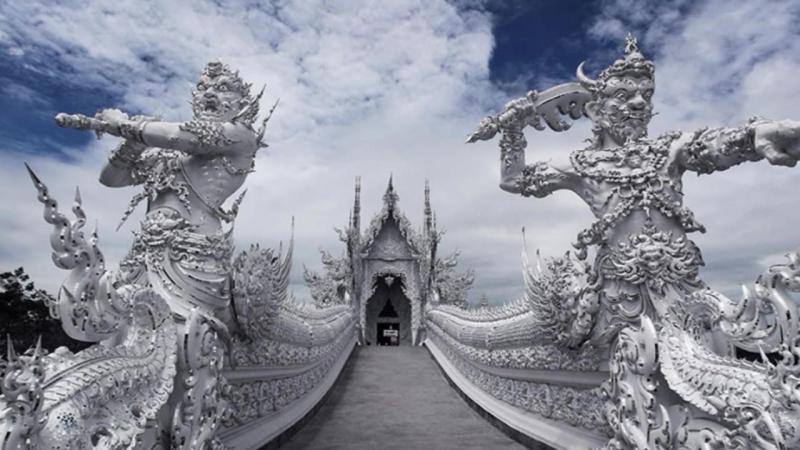 Храм в Тайланде, гроты в Китае и империя кактусов !