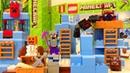 Лего Майнкрафт Игрушки Lego Minecraft Ледяные Шипы Обзор Конструктора Видео для Детей