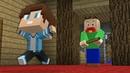 Школьник сделал Побег из Школы Балди в Майнкрафт Урок BALDI'S Школа монстровв Minecraft Мультик