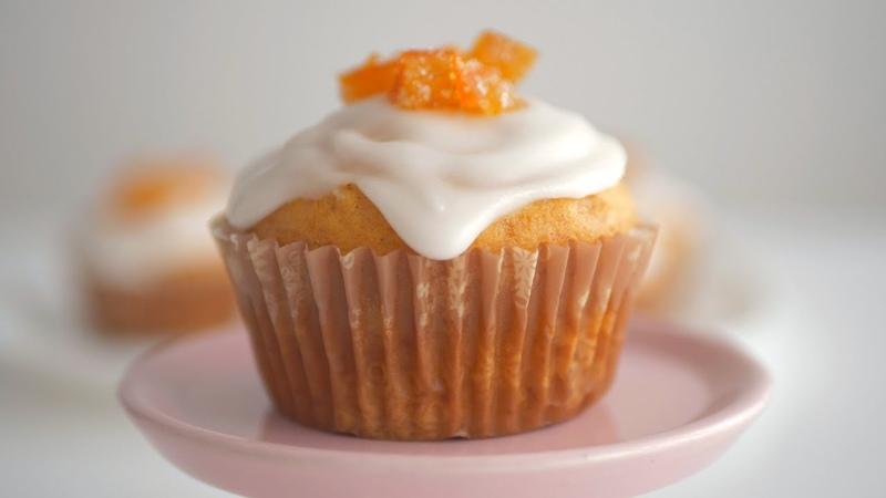Апельсиновые кексы Удачные без яиц и молочных продуктов