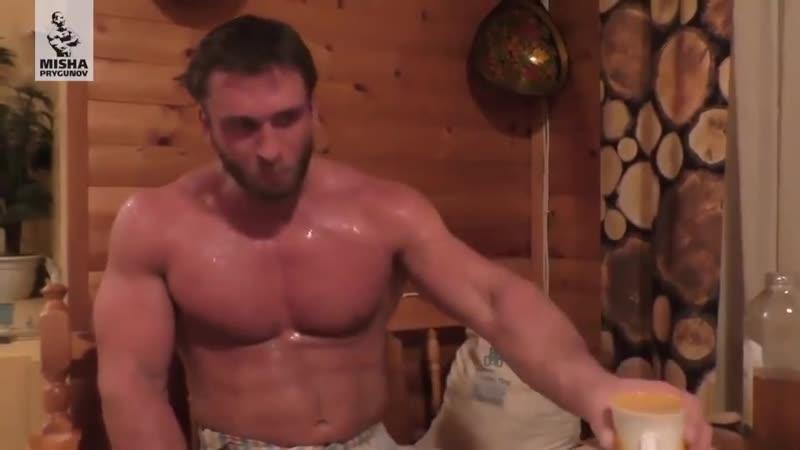 О пользе русской бани, рассказывает серебренный призёр олимпийский игр по тяжелой атлетике Дмитрий Колоков
