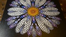 How to paint dot mandalas with Kristin Uhrig 36- Dragonfly Daisy