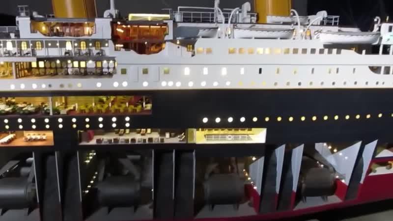 Титаник модель Titanic The worlds largest scale model