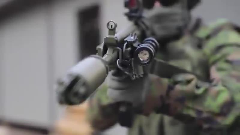 Yenilenen Fin yapımı RK 62M piyade tüfeği Finlandiya Ordusu tarafından tanıtıldı.