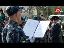 Торжественная церемония принятия Присяги и клятвы кадета в Вологде