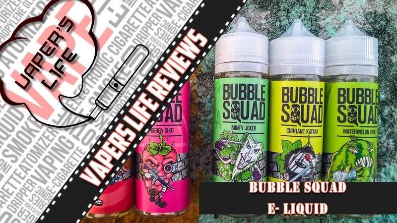 Жидкость Bubble Squad | vk.com/topliquids | Топовый отряд жевательных резинок