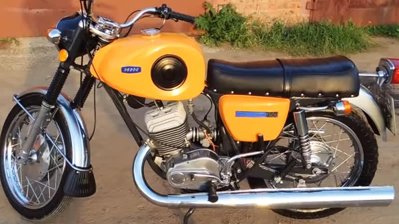 Мотоцикл Иж Планета-Спорт 1975 в оригинале, с пробегом 6228 км.