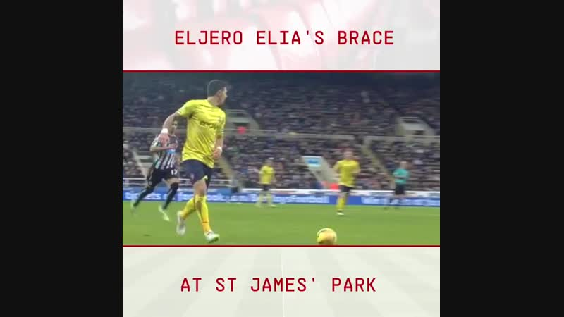 OnThisDay in 2015, @EljeroElia scored twice as SaintsFC won 2-1 at NUFC in the PL.mp4