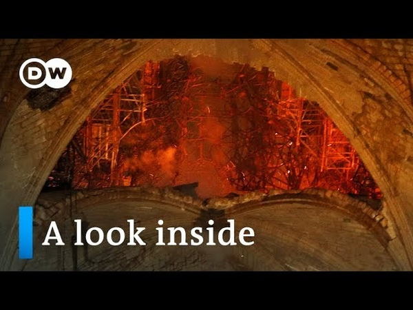 Notre Dame Cathedral Fire Assessing the damage DW News