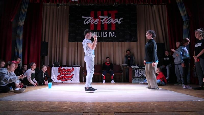 Hit The Floor vol.4 hip-hop beginners 12 DazeArt(win) vs Mavi