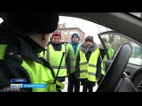В Сибае кадеты вышли в рейд с сотрудниками ГИБДД
