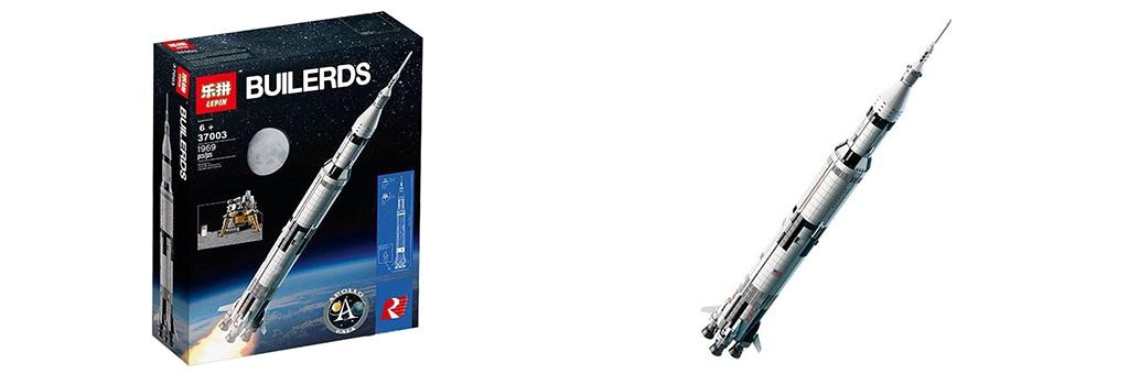 Конструктор Lepin Ракета-носитель Сатурн-5 37003