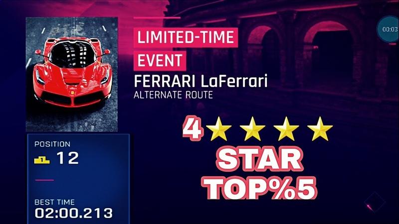 Asphalt 9 - FERRARİ LaFerrari CUP - 4 STAR - TOP %5