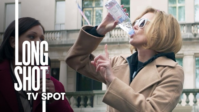 "Long Shot (2019 Movie) Official TV Spot ""Stay Hydrated"" – Seth Rogan, Charlize Theron"