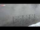 Новосибирск затопило кипятком