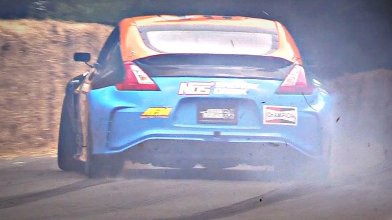 MONSTER Nissan 370Z with 5.6L V8 Engine SWAP Quaife Sequential Gearbox!