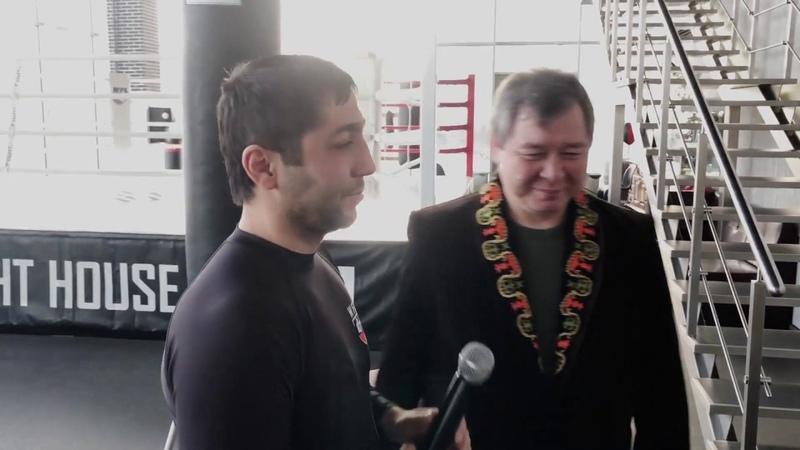 Артур Арутюнов и Абай Баймагамбетов Айкуне Сеанс 5