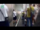 Вспышка в московском метро