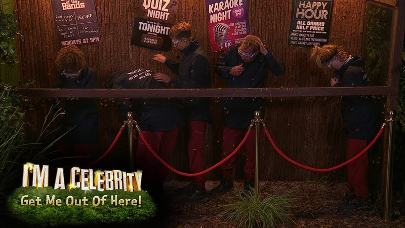 Jungle Arms Quiz Gives Celebs More Than They Bargained for Im A Celebrity... Get Me Out Of Here!