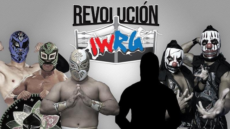 Carìstico Aramis e Imposible vs Luchador Sorpresa y Los Traumas IWRG Arena Naucalpan 5 Mayo 2019