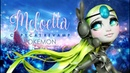 Doll Figurine Pokemon MELOETTA | Ever After High | Monster High Doll Repaint Custom Ooak