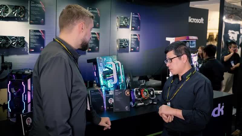 PRO Hi-Tech ASRock_ опыт работы над RX 5700 Navi и Radeon VII