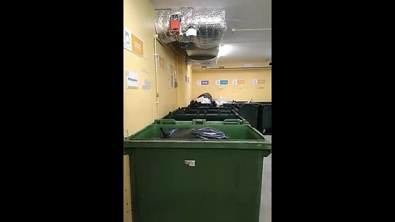 сепарация мусора в Швеции