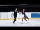 Арина Ушакова  Максим Некрасов - РТ, ЮГП Amber Cup 2018 Kaunas 2018