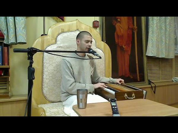 ЕМ Девакинандана прабху - 2014.11.06, Семинар Кризисы в духовной жизни (день 2)