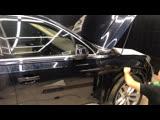 Защита бронепленкой и тонировка  Audi Q7