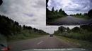 Тестовое видео с видеорегистратора «Mini 0906 Car Dual Lens DVR 1080P FHD». В дневное время