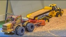 Epic RC Tractors and more in 1/16 and 1/32 scale! Truck stuck!