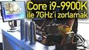 Core i9-9900K ile 7GHz'i zorlamak l Sıvı Azot ile overclock