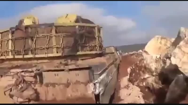 Зинки уже не те. Техника захваченная Нусрой к западу от Алеппо (5 января 2019)