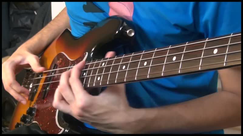 Beautiful Delay Bass Solo