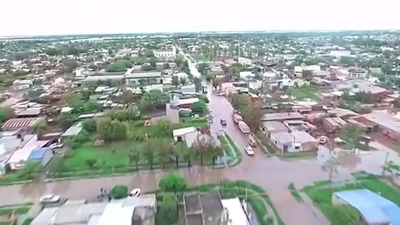 Наводнения в Аргентине